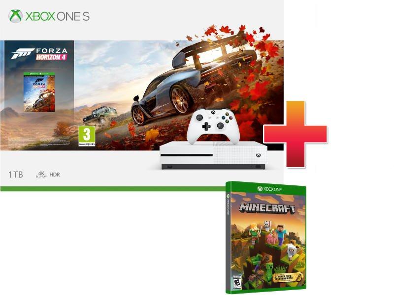 Xbox One S 1TB Konzol Forza Horizon 4 csomag