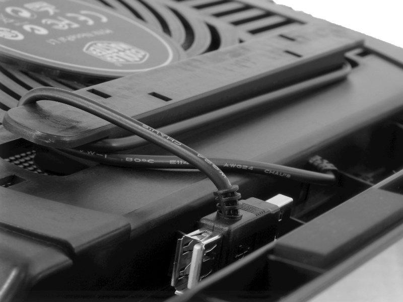 Cooler Master NotePal L1 notebook hűtőpad (R9-NBC-NPL1-GP)