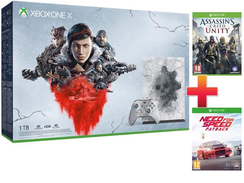 Xbox One X 1TB Konzol Gears 5 Limited Edition