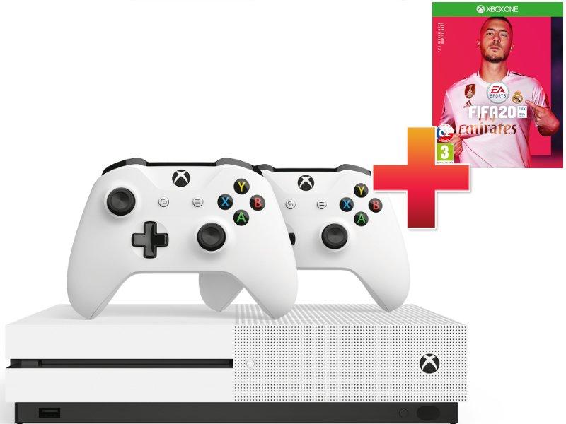 Xbox One S 1TB Controller Hard Bundle + Fifa 20