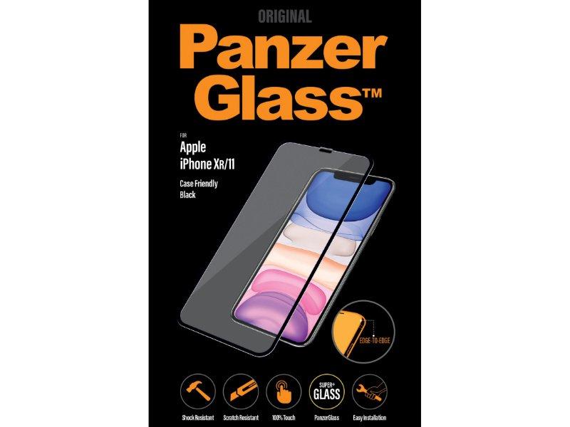 PanzerGlass Apple iPhone XR/11 tokbarát üvegfólia (5711724026652) fekete