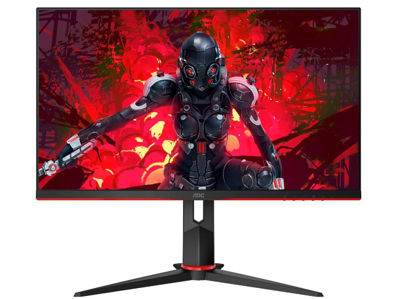 "AOC 24"" FullHD IPS 144Hz Gaming monitor (24G2U/BK) Fekete"