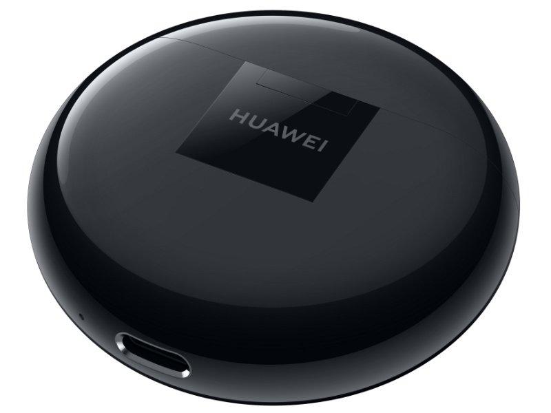 Huawei Freebuds 3 vezetéknélküli bluetooth fülhallgató, fekete