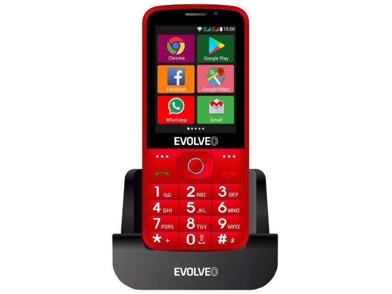 EVOLVEO EasyPhone AD Dual-SIM (SGM EP900-ADB RED) piros