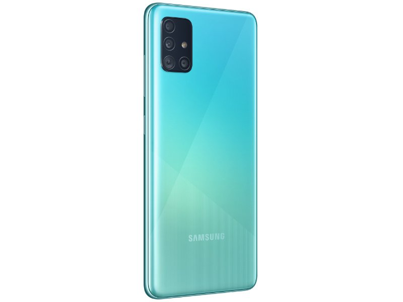 SAMSUNG Galaxy A51 128GB Dual-SIM (SM-A515FZBVEUE) kék
