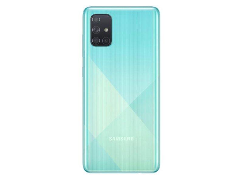 SAMSUNG Galaxy A71 128GB Dual-SIM (SM-A715FZBUXEH) kék