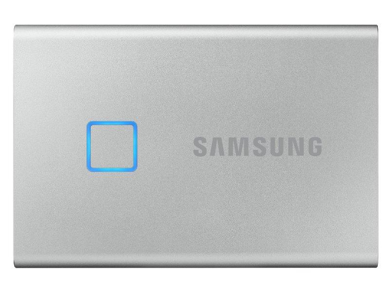 SAMSUNG Hordozható SSD T7 Touch, 500GB (MU-PC500S/WW) Szürke