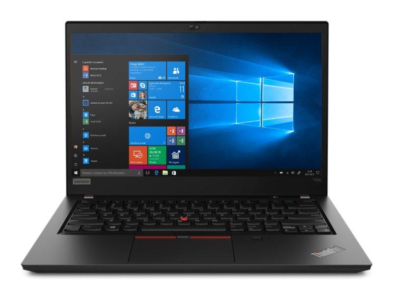 LENOVO ThinkPad T495 (20NJ0012HV) Fekete