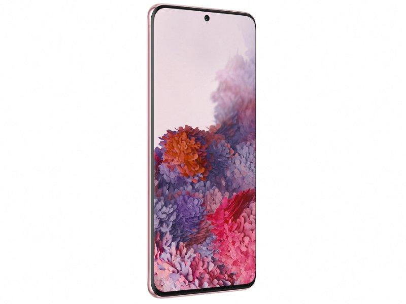 Samsung Galaxy S20 128GB DualSIM 4G (SM-G980FZIDEUE) Rózsaszín