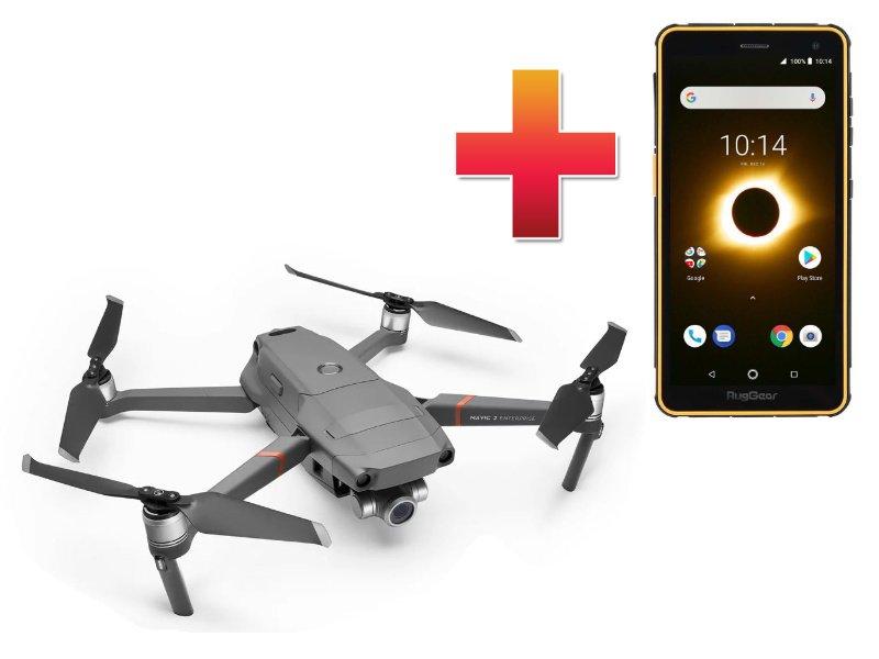 Dji Mavic 2 Enterprise Zoom Universal Edition + RugGear RG650 strapabíró telefon (DJIMVC2-ENT-Z)