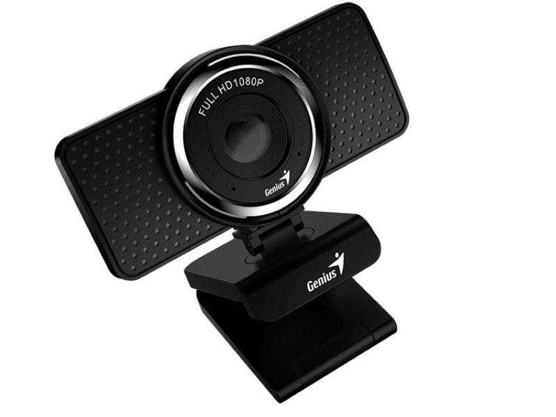 Genius Ecam 8000 1080p webkamera (32200001400) fekete