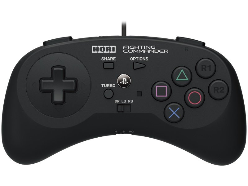 HORI PS4/PS3/PC Fighting Commander Kontroller (PS4-044E)