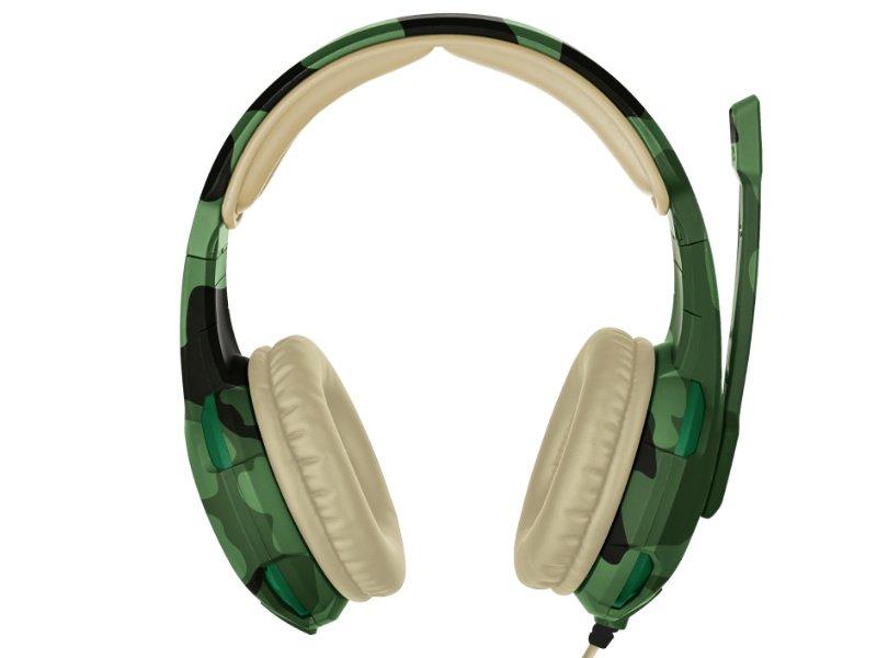 Trust GXT 310C Radius gamer headset (22207) jungle camo