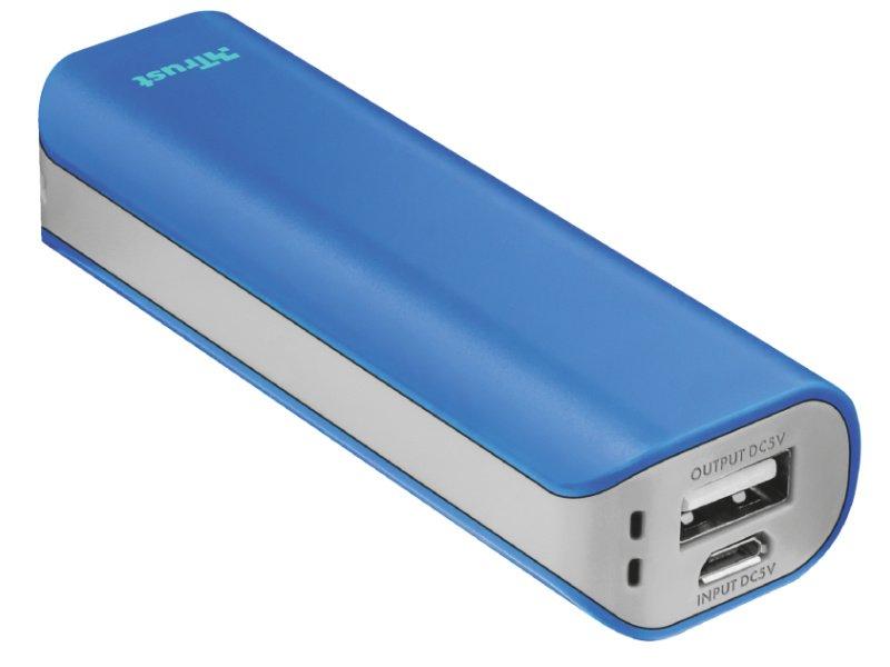 Trust Urban Primo power bank 2200mAh (21222) kék