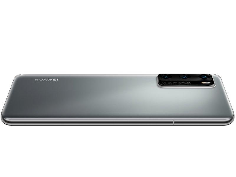 HUAWEI P40 Dual-Sim 128GB App Gallery (51095CAA) Ezüst