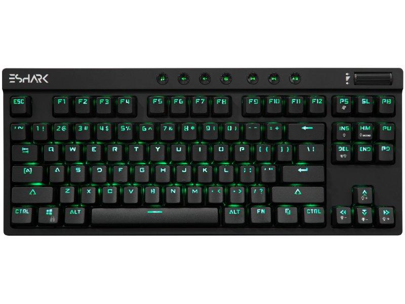 eShark KODACHI ESL-K1 eSport Mechanikus RGB Gamer Billentyűzet (US)