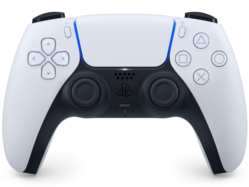 PlayStation 5 (PS5) DualSense Kontroller (Fekete-Fehér)