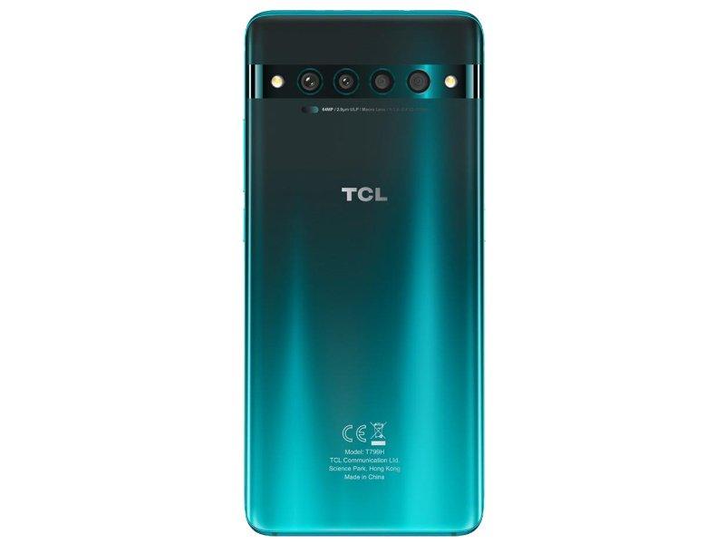TCL 10 PRO Dual-Sim 128GB (T799H-2BLCE112-1) Erdei köd zöld