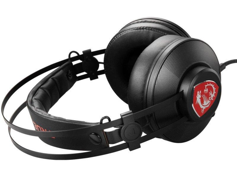 MSI H991 Gaming Fejhallgató (S37-21000A1-V33HU) Fekete