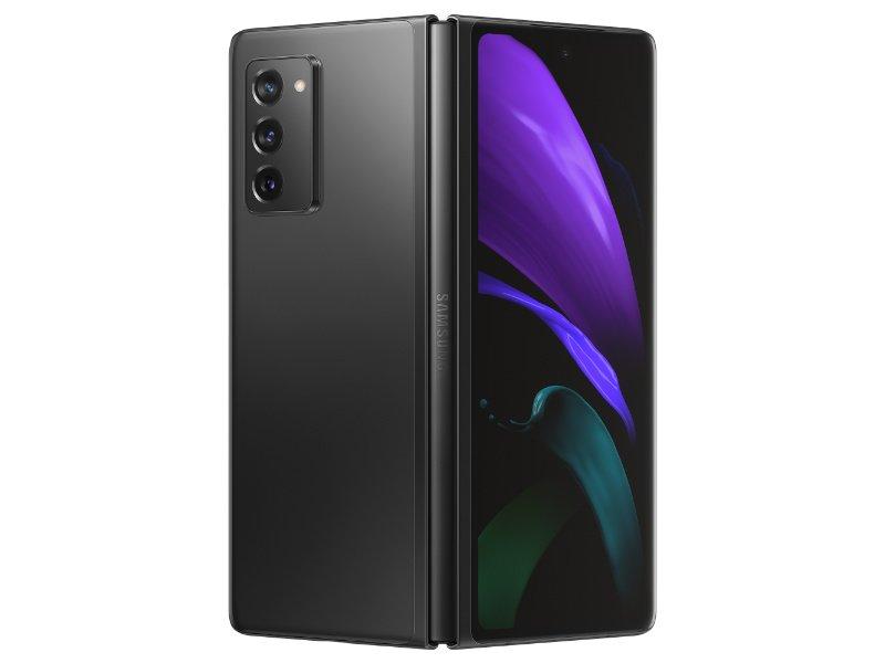 SAMSUNG Galaxy Z Fold2 12/256GB Hibrid-Dual-Sim (SM-F916BZKAXEH) Fekete