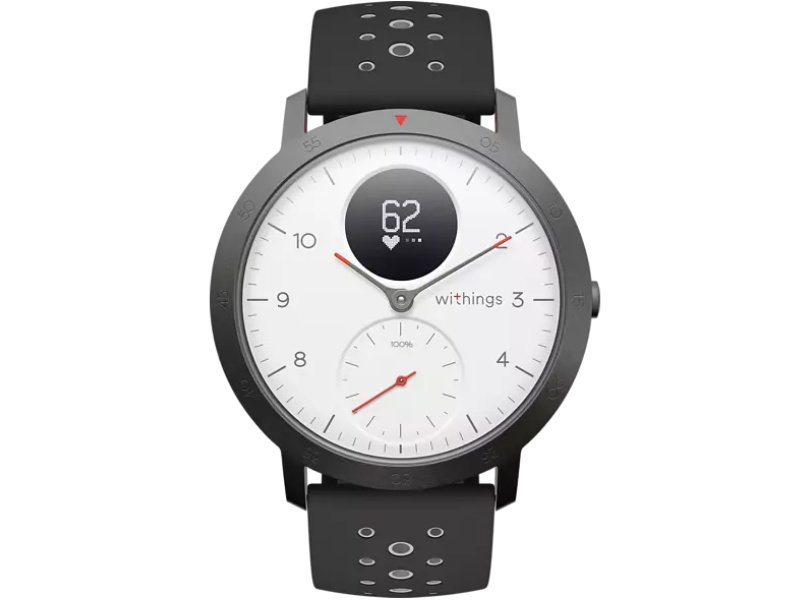 Withings Steel HR Sport Okosóra 40mm (HWA03B-40WHITE-SP) Fehér