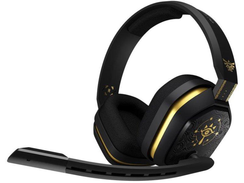 Logitech A10 Astro Gaming Legend of Zelda 7.1 Mikrofonos Headset (939-001708) Fekete-Sárga
