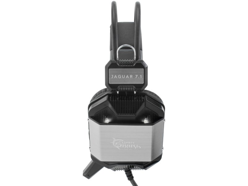 White Shark GH-1646B/S Jaguar 7.1 Gamer Headset Fekete/Ezüst