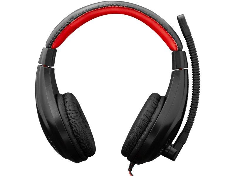 White Shark GH-2040 Serval Gamer Headset Fekete/Piros