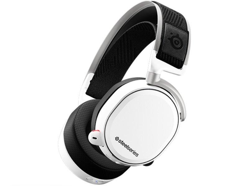SteelSeries Arctis Pro Vezeték Nélküli Headset (61474) Fekete/Fehér