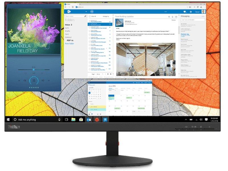 """LENOVO ThinkVision S24q-10 23,8"""" WQHD IPS monitor (61E7GAT1EU)"""