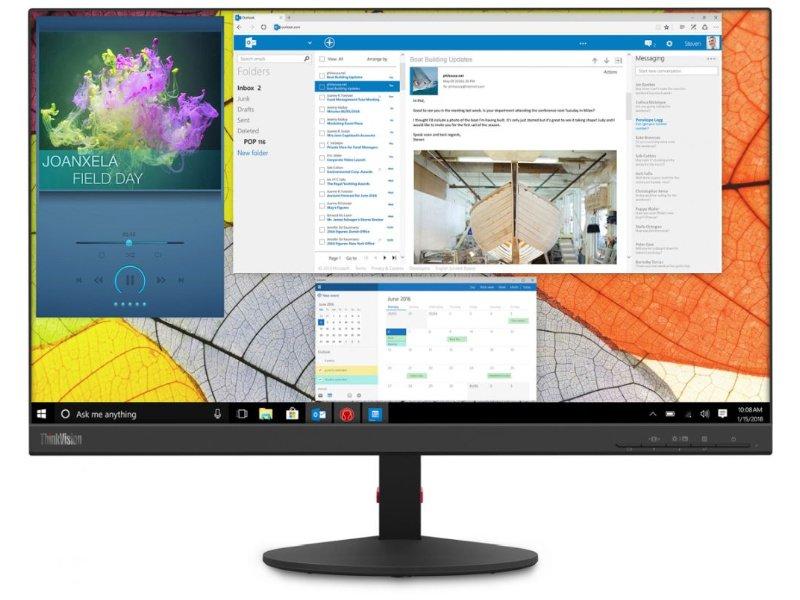"""LENOVO ThinkVision S27q-10 27"""" WQHD IPS monitor (61E8GAT1EU)"""