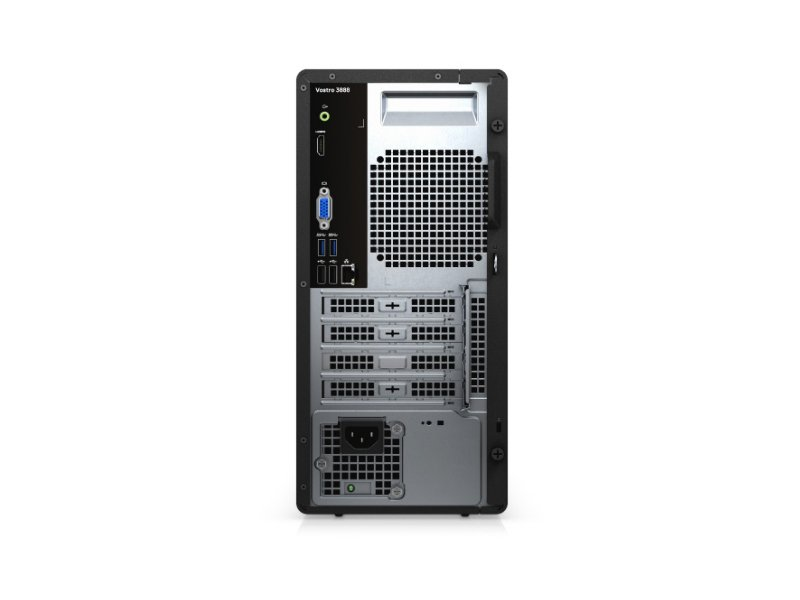 DELL VOSTRO 3888 Mini Tower PC (N204VD3888EMEA01_2101) Fekete