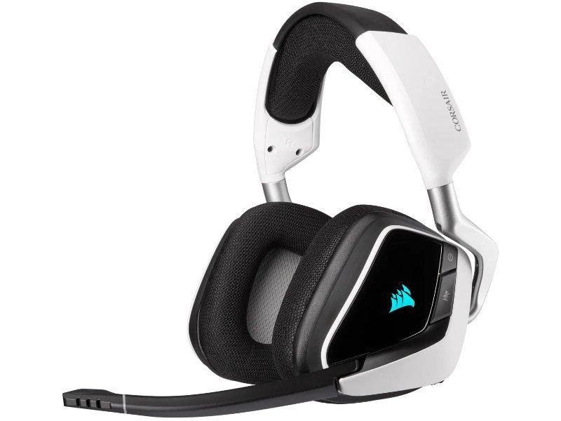 Corsair Gaming Void Elite RGB 7.1 Vezeték Nélküli Headset (CA-9011202-EU) Fehér