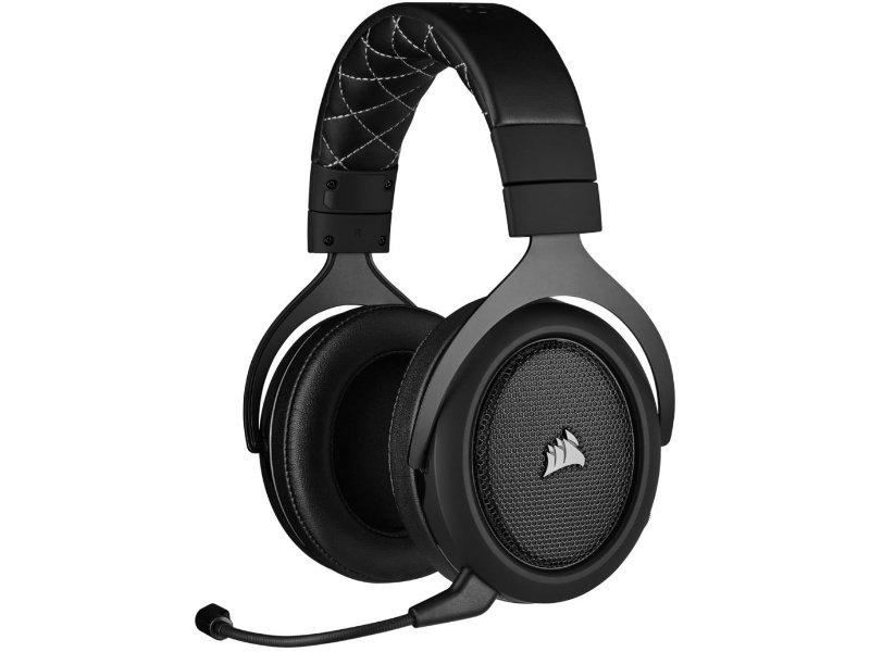 Corsair HS70 Pro Vezeték Nélküli Gaming 7.1 Mikrofonos Fejhallgató (CA-9011211-EU) Carbon