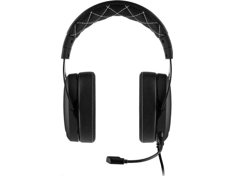 Corsair HS60 Pro 7.1 Surround Gaming Mikrofonos Fejhallgató (CA-9011213-EU) Carbon