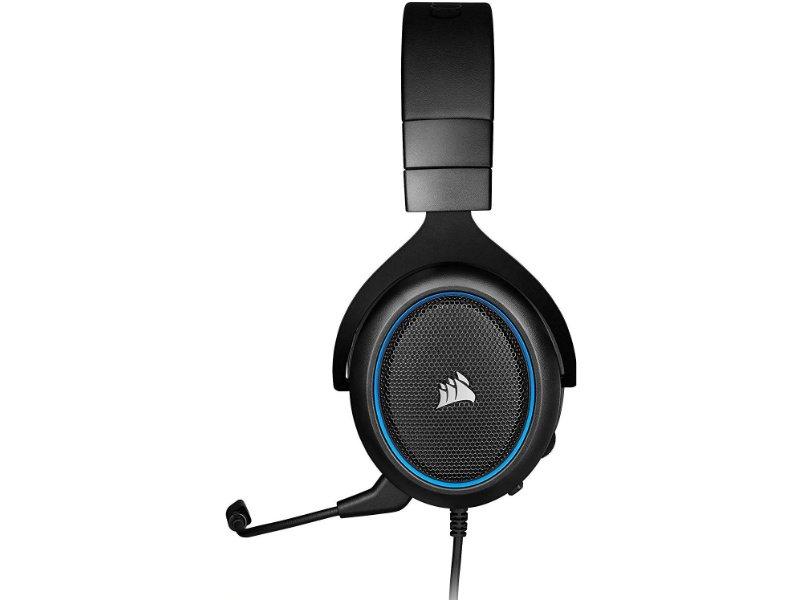 Corsair HS50 Pro Sztereó Gaming Mikrofonos Fejhallgató (CA-9011217-EU) Kék
