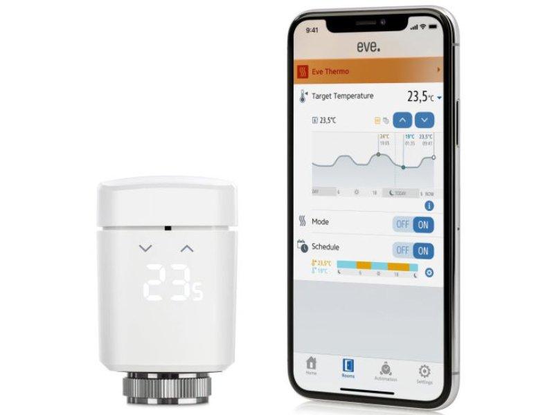 Elgato EVE Thermo Okos termosztát Chipset 2020 2 db (10EBP1701-2X) Fehér