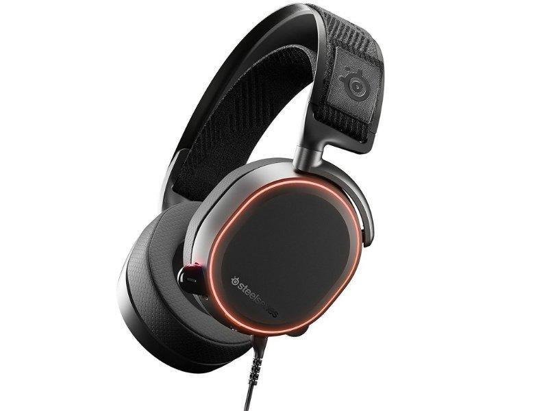 SteelSeries Arctis Pro Vezetékes gamer fejhallgató (61486) fekete
