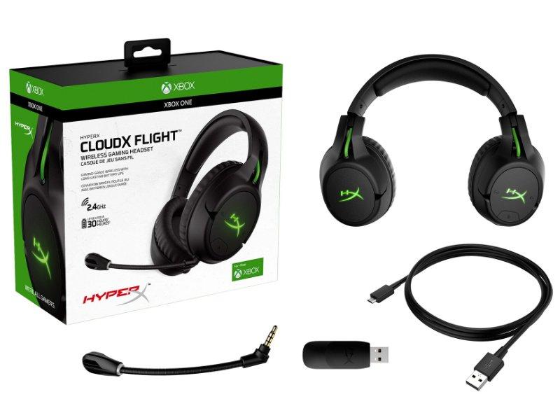 HYPERX CloudX Flight, vezeték nélküli headset (HX-HSCFX-BK/WW) - Xbox licensed