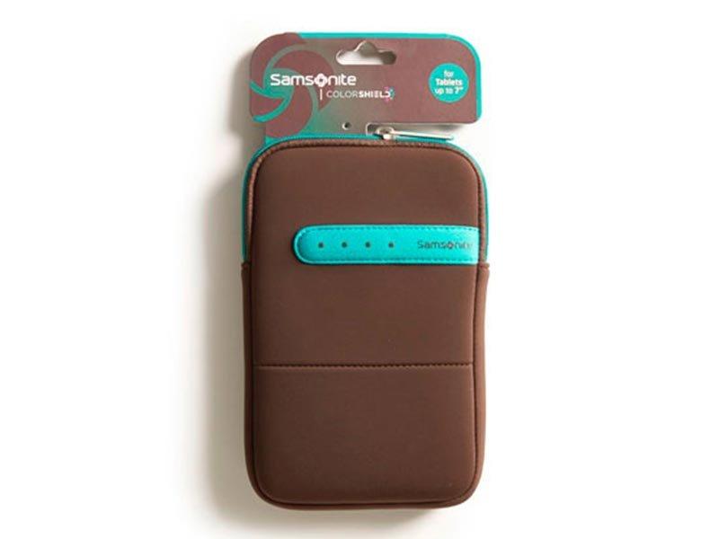 """Samsonite Tablet tok COLORSHIELD 7\""""  barna/zöld"""