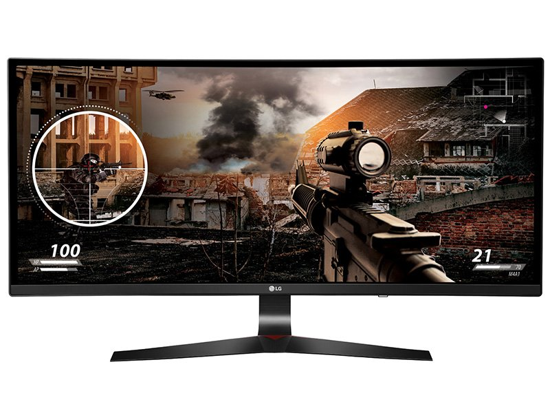 "LG 34UC79G-B 34"" ívelt IPS Monitor"