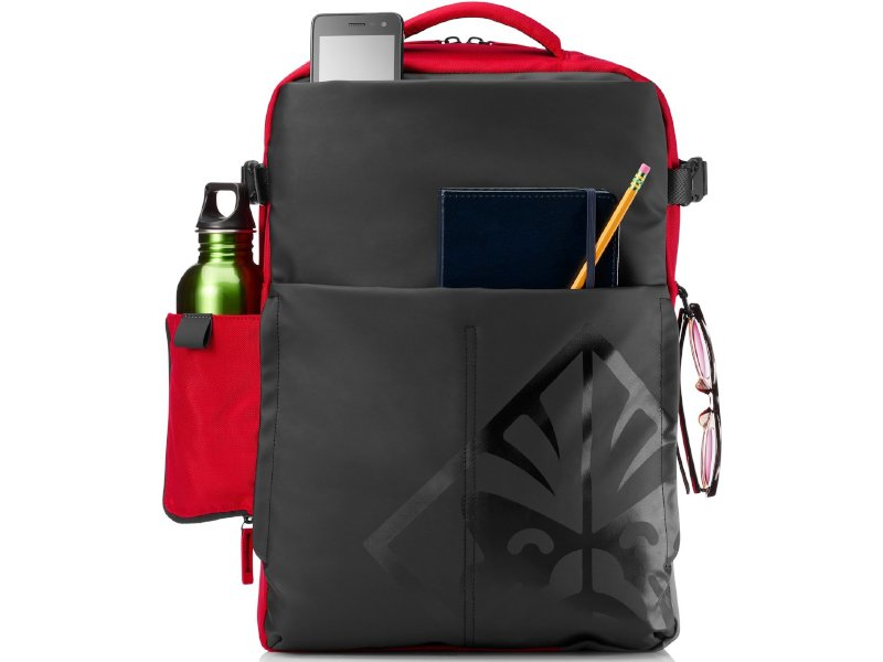 "HP Omen Gaming Notebook Hátizsák 17.3"" Piros-fekete"