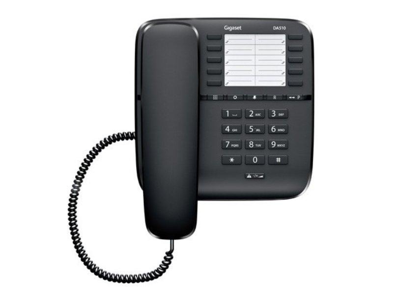 GIGASET DA510 vezetékes telefon, fekete