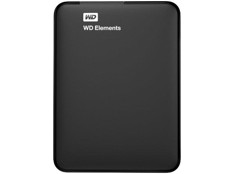 Western Digital Elements 1TB USB 3.0 Hordozható Külső HDD (WDBUZG0010BBK-WESN)