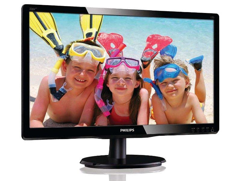 """Philips 246V  24"""" FullHD Monitor (246V5LSB/00) fekete"""