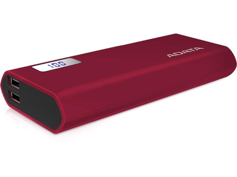 ADATA AP12500 Powerbank 12500mAh Piros