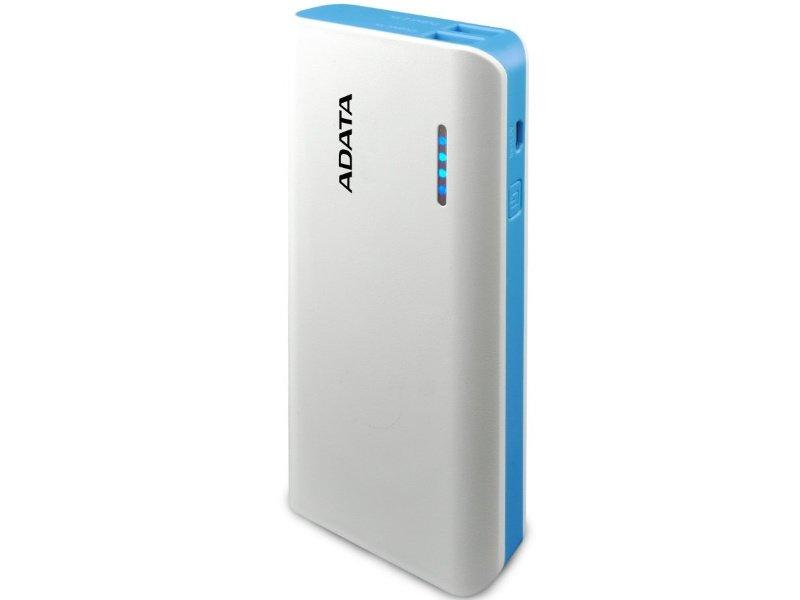 ADATA PT100 Powerbank 10000mAh Fehér-Kék