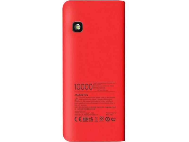 ADATA PT100 Powerbank 10000mAh Piros-Narancs