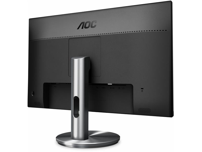 "AOC 23,8"" I2490VXQ/BT Monitor Szürke"