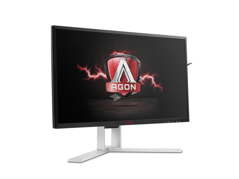 """AOC 23,8"""" AG241QX Gamer Monitor Fekete-Piros"""